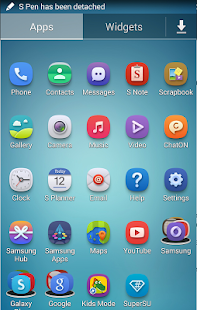 how to change samsung icons
