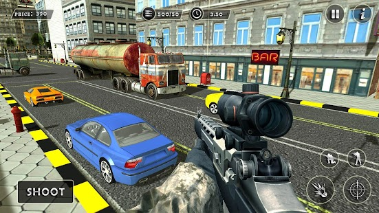Traffic Sniper Gun Shooter - Assault Mission 2017 - náhled