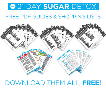This PDF download includes the following guides from The 21-Day Sugar Detox: