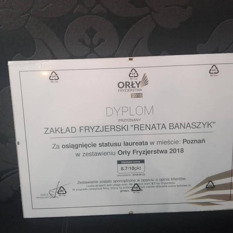 Zakład Fryzjerski Damski Męski Renata Banaszyk Zaklad Fryzjerski