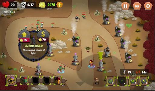 Tower Defense: Castle Fantasy TD 1.1.2 screenshots 1