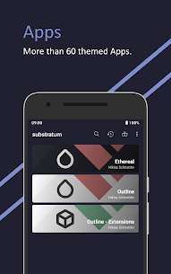 Ethereal for Substratum Q Pie Oreo Nougat 36 Patched 3