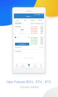 OKEx – Bitcoin, Cryptocurrency Exhcange - náhled