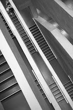 Photo: Treppengeflüster (stair whispers)  Street Tour mit +Reiner Girsch, +Alexander Ess & +Thomas Leuthard  #street #streettogs #streetphotography #shootthestreet  #blackandwhite #blackandwhitephotography #bw #monochrome  #monochromeartyclub #monochromephotography