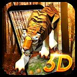 3D Tiger Theme Icon