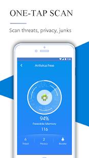Antivirus Free - náhled