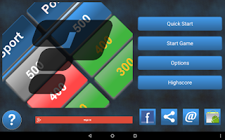 Screenshot of Category Quiz (Trivia)