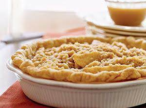 Creamy Pear Pie With Caramel Sauce Recipe