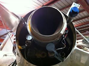 Photo: engine exaust