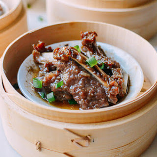 Dim Sum Beef Short Ribs with Black Pepper.