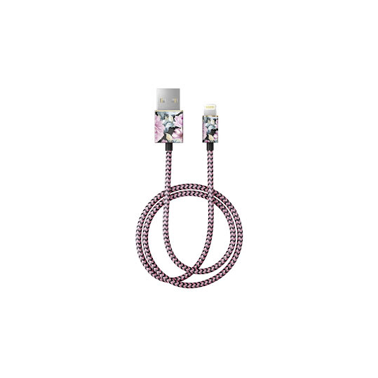 iDEAL Fashion Lightning Cable 1M Peony Garden