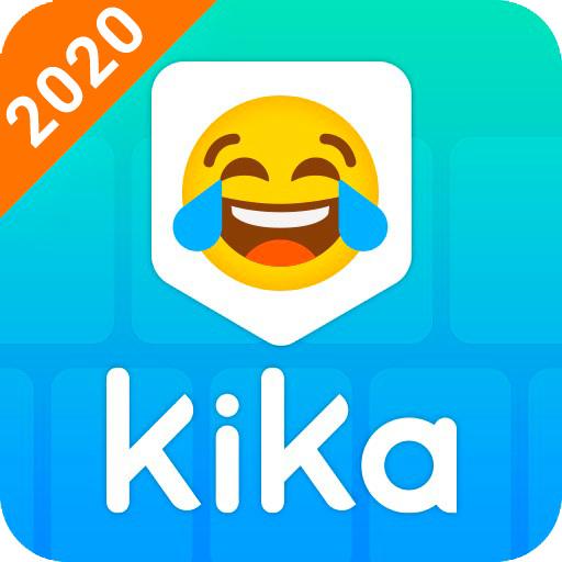 Kika Keyboard 2020 - Emoji Keyboard, Stickers, GIF Icon