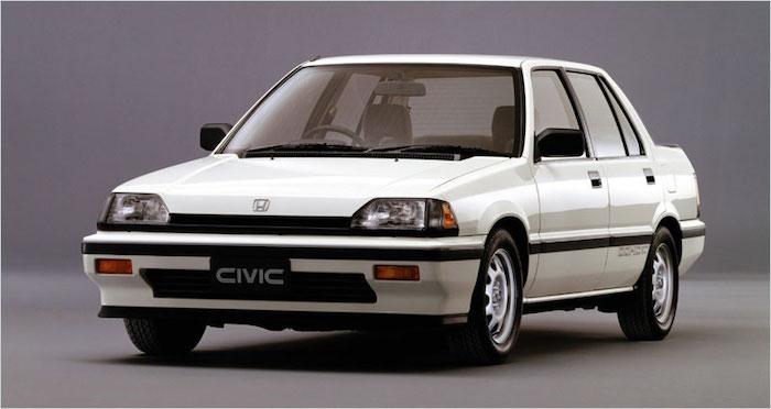 Honda  Civic SB4 ปี 1983-1987