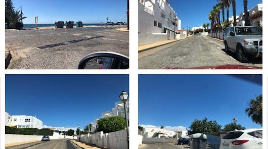 Asfaltado y urbanización de una veintena de calles de Mojácar Playa