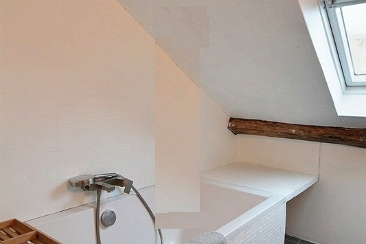 Bathroom at 2 bedroom Apartment Near Place Vendome
