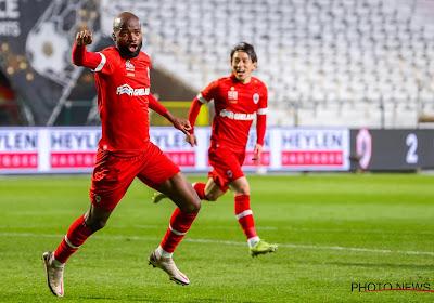 Coup dur pour l'Antwerp: Didier Lamkel Zé absent contre Anderlecht