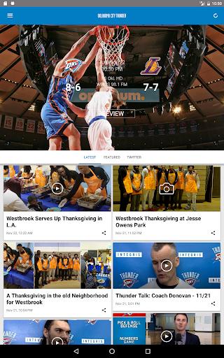 Oklahoma City Thunder 2.2.6 screenshots 7