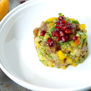 Fruity and Spicy Tuna Tartare.