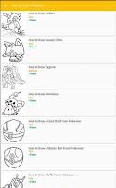 How to Draw Pokemon - screenshot thumbnail 02
