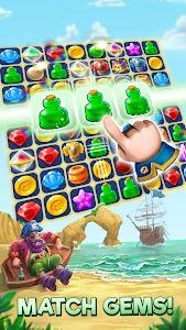 Pirates & Pearls - A Match 3 Pirate Puzzle Game 1.7.1000 (Mod)