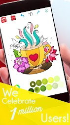 Coloring Book For Adults Free - ColorWolf APK screenshot thumbnail 1