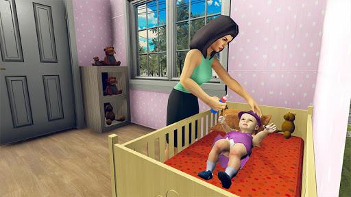 Real Mother Simulator 3D - Baby Care Games 2020 apktreat screenshots 2
