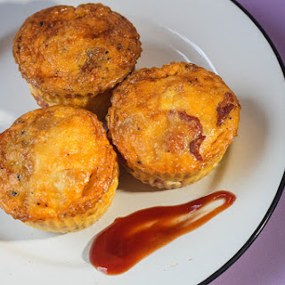 Full English Breakfast Muffins.