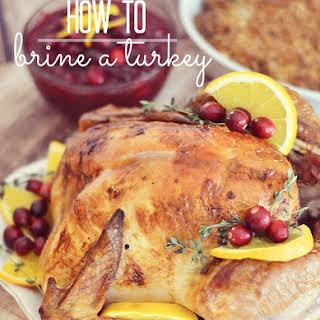 My Favorite Turkey Brine.