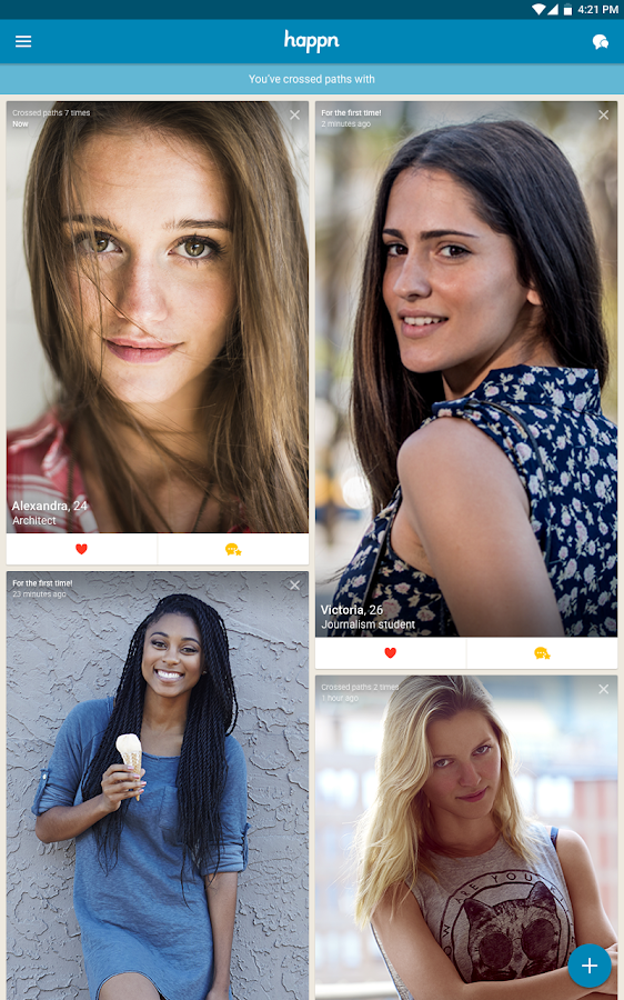 happn – Local dating app- screenshot
