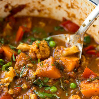 Spicy Vegetable Curry Vegetarian Recipes.
