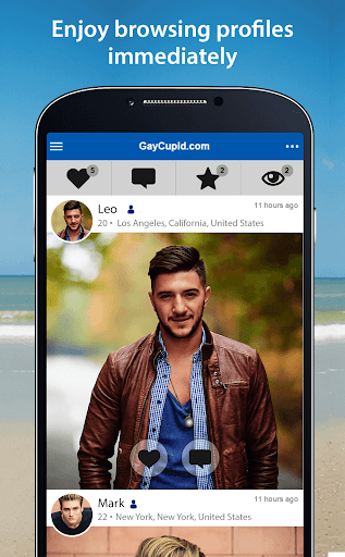GayCupid - Gay Dating App 2.3.9.1937 screenshots 2