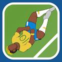 Rolling Neymar icon