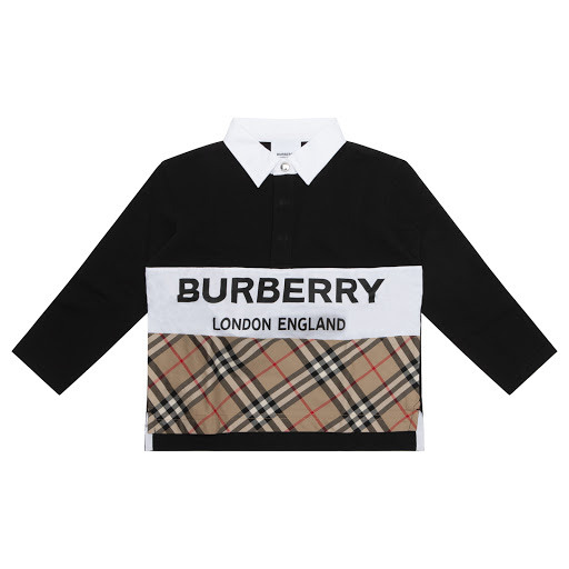 Primary image of Burberry Checked Polo Shirt