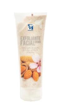 Crema Farmatodo   Exfoliante Facial Almendras Tubo X120G.