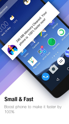 APUS Launcher-Themes&Wallpapers, Boost, Hide Apps screenshot 2