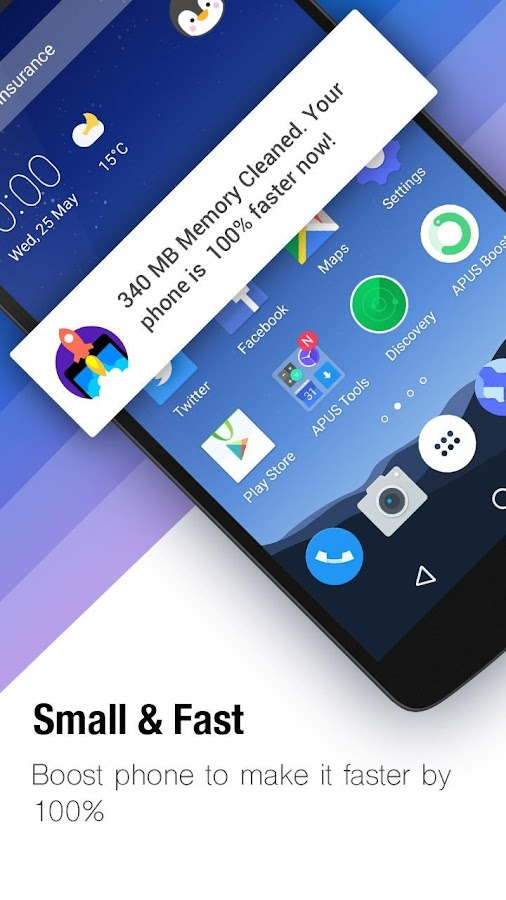 APUS Launcher-Themes&Wallpapers, Boost, Hide Apps- screenshot