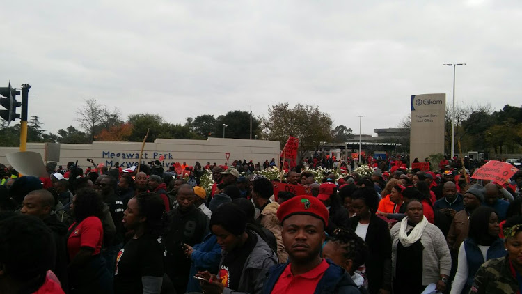 Eskom and unions on track for pay deal