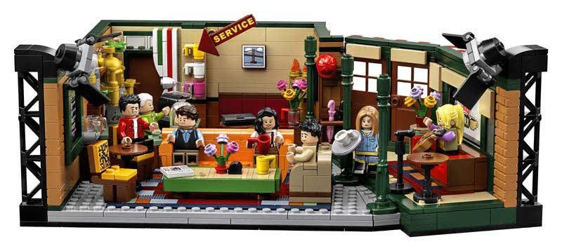 Contenido de Lego® 21319 Central Perks: Friends