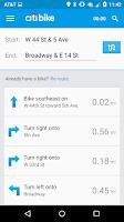 Screenshot of Citi Bike