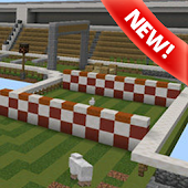 Horse Racing map for Minecraft