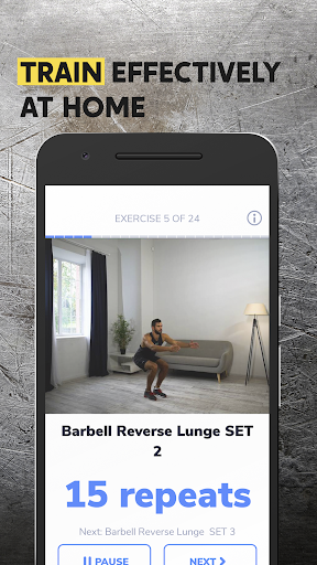 BetterMen: Workout Trainer for Android apk 3