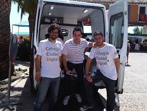 Photo: con @pedroaduran y @lucro en el mercadillo de Cehegín el 30demayo y #CCD