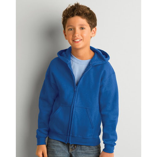 Gildan Kids Zip Hooded Sweatshirt