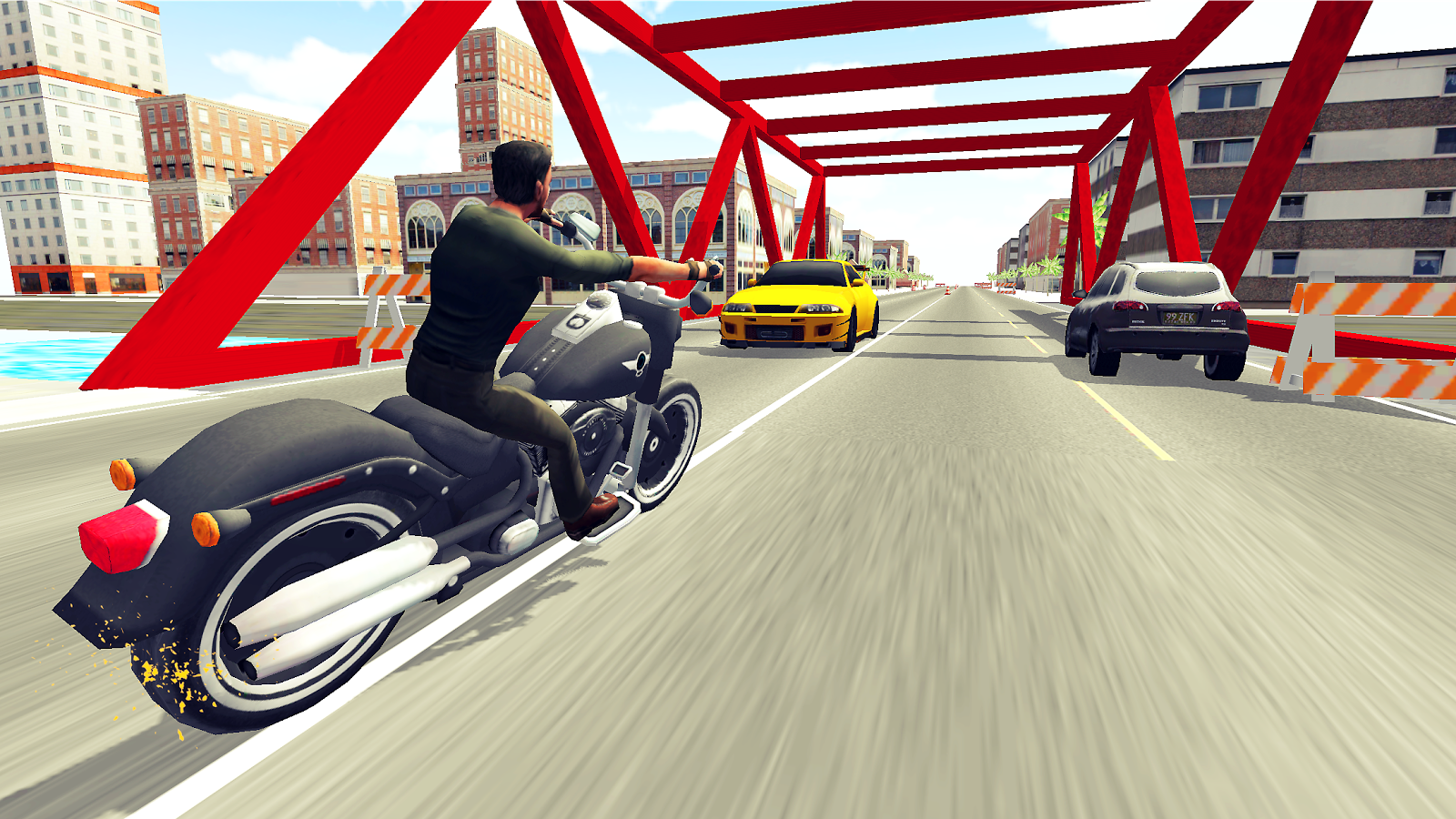 Moto Racer 3D- screenshot