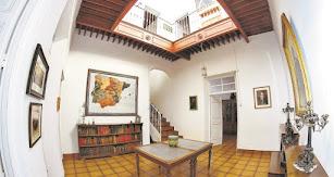 Estancia de la casa solariega que perteneció a Nicolás Salmerón.