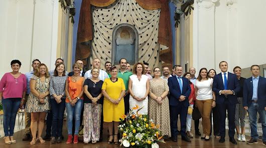La alcaldesa de Garrucha ya es la presidenta de la Mancomunidad del Levante