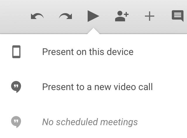 Google Slides: Audience Tool (mobile app)