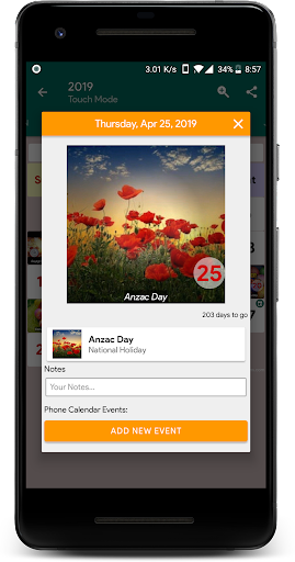 Calendar2U: Australia Calendar 2019 - 2020 2.5.1 app download 2