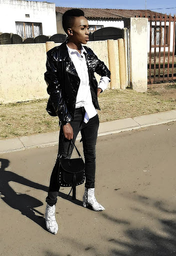Mpilo shows off his sense of style.