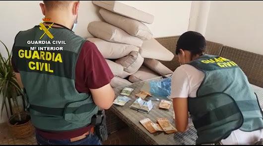 Almería: desarticulan organización criminal dedicada a la exportación de droga